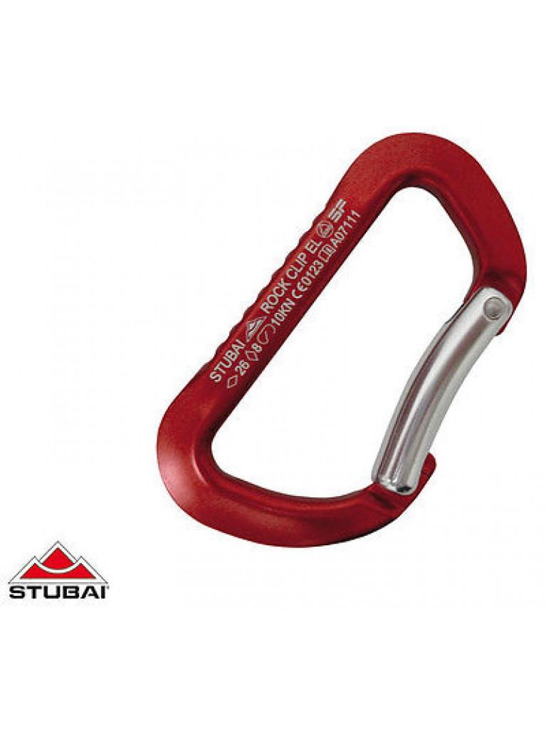 Stubai Rock Clip Karabiner - Bent Clip