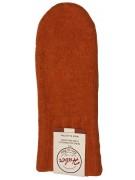 Huber Dachstein Orange Woollen Mittens